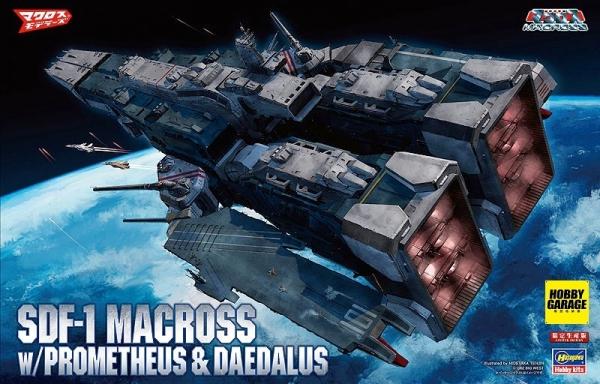 1/4000 超時空要塞 SDF-1 MACROSS 要塞艦 HASEGAWA 超時空要塞,SDF-1,MACROSS,
