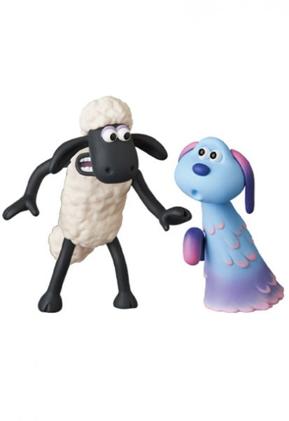 Medicom Toy UDF NO.593 笑笑羊:外星人來了 尚恩&魯拉 Medicom Toy,UDF,NO593,笑笑羊,外星人來了,尚恩,魯拉