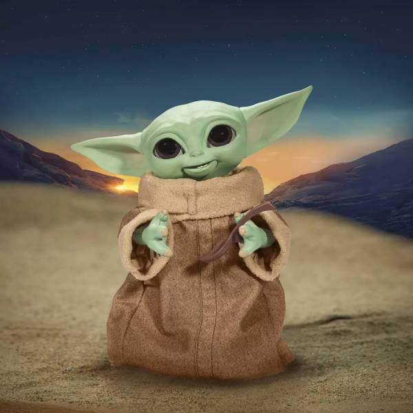 Hasbro 孩之寶 9.25吋 星際大戰 終極GROGU 尤達寶寶 電子互動人偶 Hasbro,孩之寶,9.25吋,星際大戰,終極,GROGU,尤達寶寶 ,電子互動人偶,