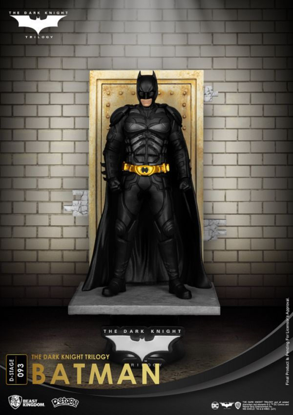 DC 夢精選 093 TDK三部曲 蝙蝠俠 黑暗騎士 蝙蝠俠 靜態完成品 DC,夢精選,TDK三部曲,蝙蝠俠,黑暗騎士,蝙蝠俠,靜態完成品