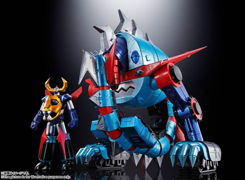 [即將發售 請點貨到通知] BANDAI 超合金魂 GX-100 鎧王&大空魔龍 可動完成品 [即將發售 請點貨到通知],BANDAI,超合金魂,GX-100,鎧王,&,大空魔龍,可動完成品,