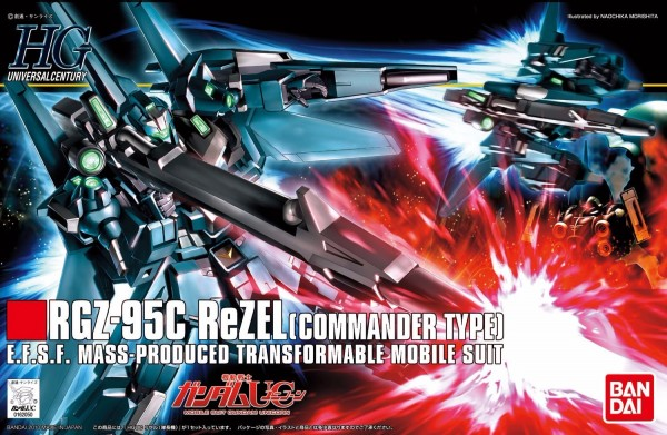 HGUC 1/144 #108 RGZ-95C 里澤爾 隊長機 鋼彈UC