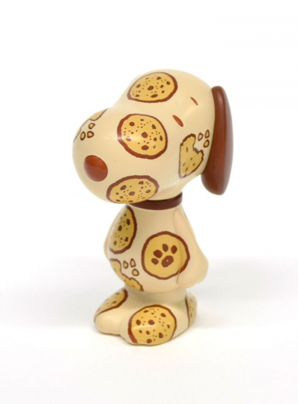 EYEUP Variarts系列 藝術公仔 史努比002 巧克力片餅乾版 eyeup,Variarts,史努比002,巧克力片餅乾版