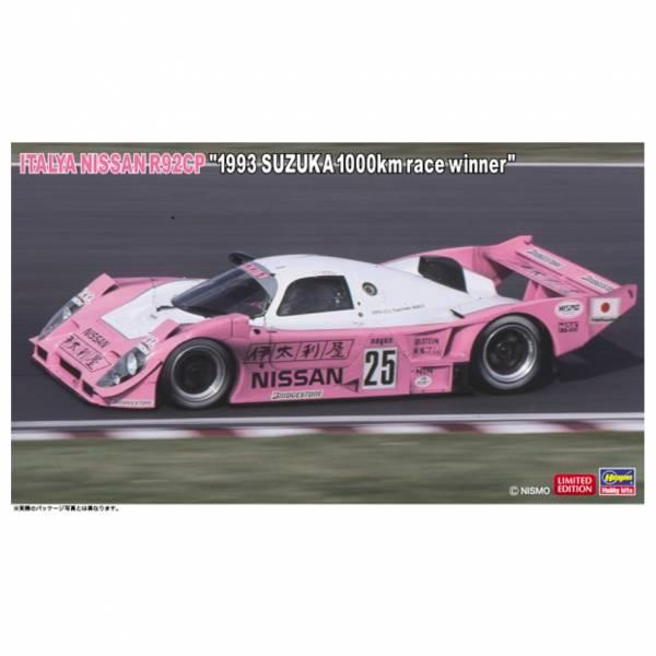 HASEGAWA 1/24 伊太利屋 日產 R92CP 1993 鈴鹿1000km賽冠軍 組裝模型 HASEGAWA,1/24伊太利屋,日產,NISSAN,R92CP,1993,鈴鹿,1000km賽冠軍,組裝模型