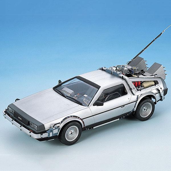 AOSHIMA 青島 1/24 回到未來 Back to the Future DeLorean I 續訂版 組裝模型 AOSHIMA,青島,1/24,回到未來,Back to the Future DeLorean I,續訂版