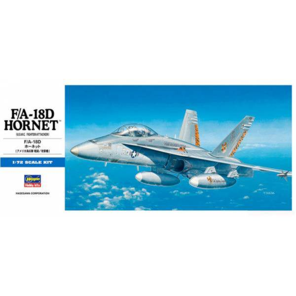 [再販] HASEGAWA 1/72 F/A-18D 大黃蜂戰鬥機 組裝模型 [再販],HASEGAWA,1/72,F/A-18D,大黃蜂戰鬥機,組裝模型,
