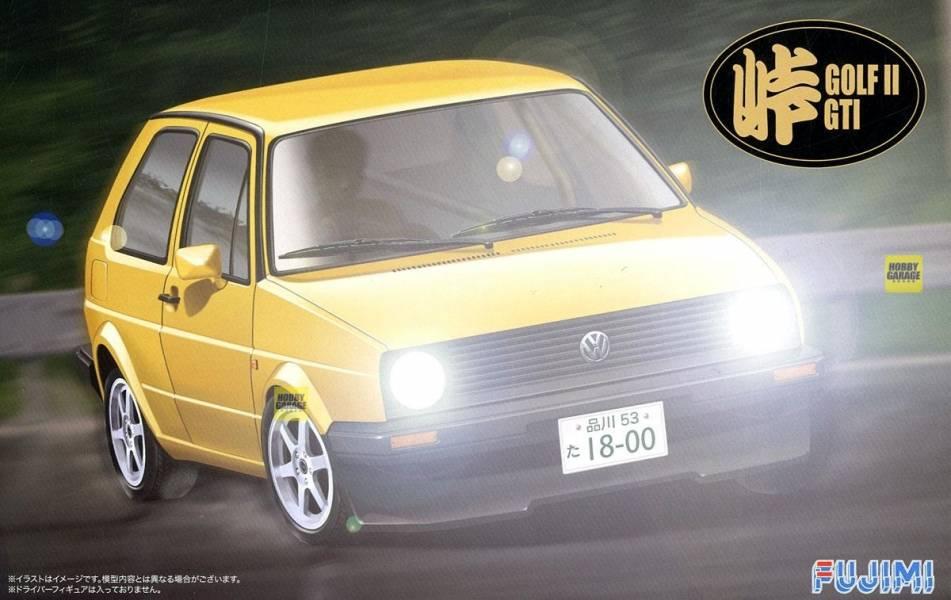 1/24 Volkswagen GOLF II GTI FUJIMI 峠12 富士美 組裝模型 FUJIMI,1/24,ID,Volkswagen,GOLF,GTI,