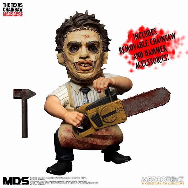 MEZCO TOYZ MDS 德州電鋸殺人狂 皮臉 可動完成品  MEZCO TOYZ,MDS,德州電鋸殺人狂,皮臉,可動完成品,