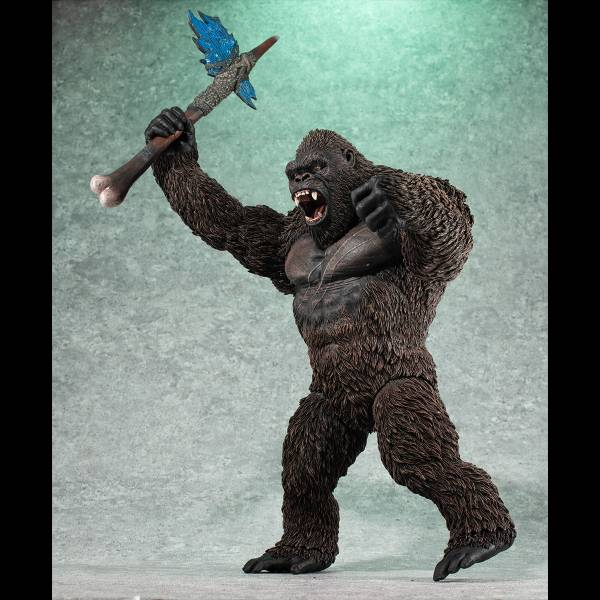 MegaHouse UA Monsters 哥吉拉大戰金剛 金剛 (2021) 微可動 PVC   MegaHouse,UA Monsters,哥吉拉大戰金剛,金剛,(,2021,)PVC,  微可動,