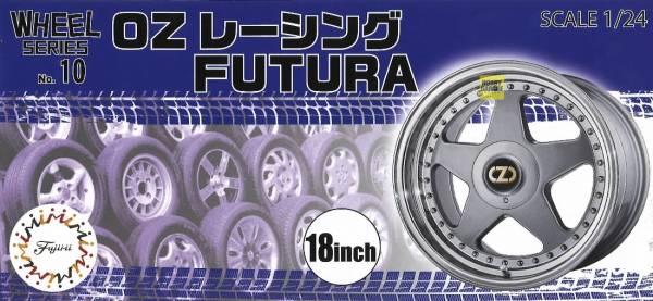 1/24 OZ Racing FUTURA 18吋 胎圈組 FUJIMI W10 富士美 組裝模型 FUJIMI,1/24,W,OZ,Racing,FUTURA,18吋,鋁圈,