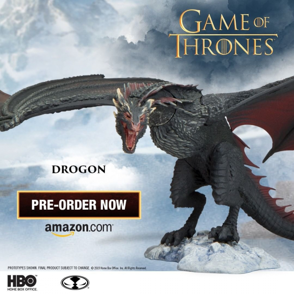 McFarlane Toys 冰與火之歌 權力遊戲 黑死神 卓耿 Dragon Game of Thrones Drogon Deluxe Figure McFarlane Toys,冰與火之歌,權力遊戲,卓耿,Dragon,Game of Thrones Drogon Deluxe Figure,黑死神