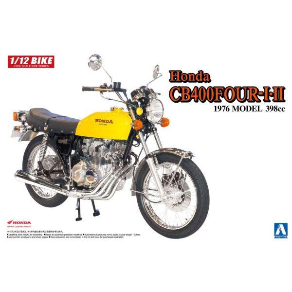 [零件已上色] AOSHIMA 1/12 本田Honda CB400 FOUR Ⅰ・Ⅱ 398cc 組裝模型 AOSHIMA,1/12,本田Honda,CB400 FOUR Ⅰ・Ⅱ 398cc