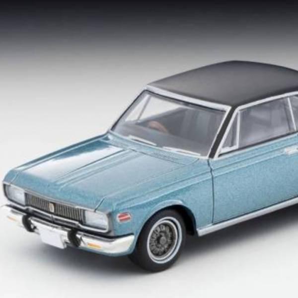 TOMYTEC 1/64 LV-192a Toyopet Crown Hardtop SL 70年式 藍/黑 TOMYTEC,1/64,LV-192a,Toyopet,Crown,Hardtop SL 70年式,藍/黑,