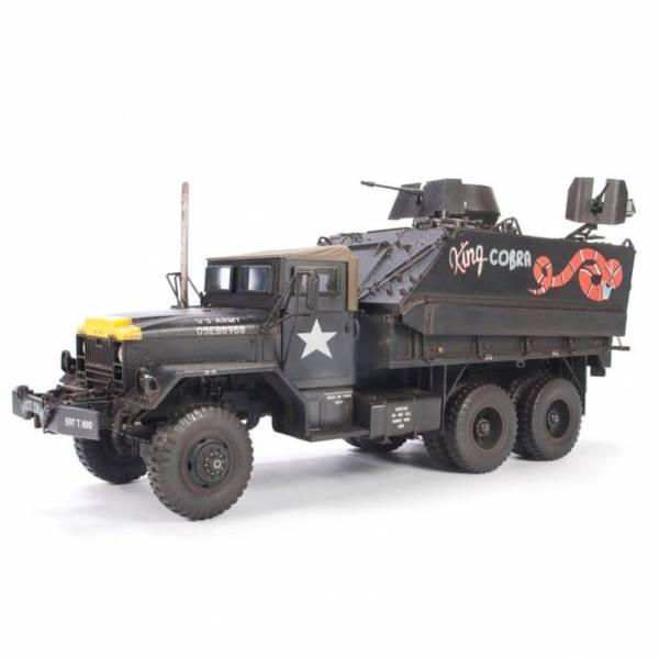 AFV CLUB 戰鷹模型 1/35 越戰美國陸軍M54+M113 眼鏡蛇王 槍砲車 AF35323 組裝模型 AFV CLUB,戰鷹模型,1/35,越戰美國陸軍,M54,M113,眼鏡蛇王,槍砲車,AF3532