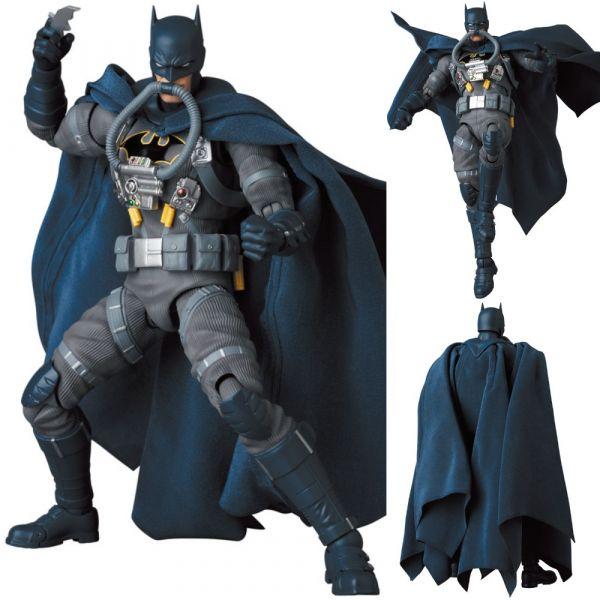 Medicom Toy MAFEX No.166 DC 蝙蝠俠 緘默 Stealth Jumper ver. 可動完成品    Medicom Toy,MAFEX,No.166,DC,蝙蝠俠,緘默,Stealth Jumper ver.,可動完成品,
