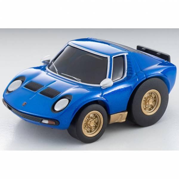 TOMYTEC Choro Q zero Z-73b Lamborghini Miura SV Blue 迷你車 TOMYTEC,Choro Q,zero Z-73b Lamborghini Miura SV Blue,迷你車,