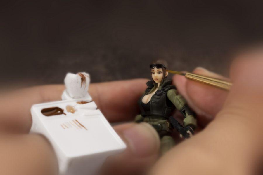 Kotobukiya 壽屋 MSG武裝零件 MT011 手指調色盤 Kotobukiya,壽屋,MSG武裝零件,MT011,手指調色盤,