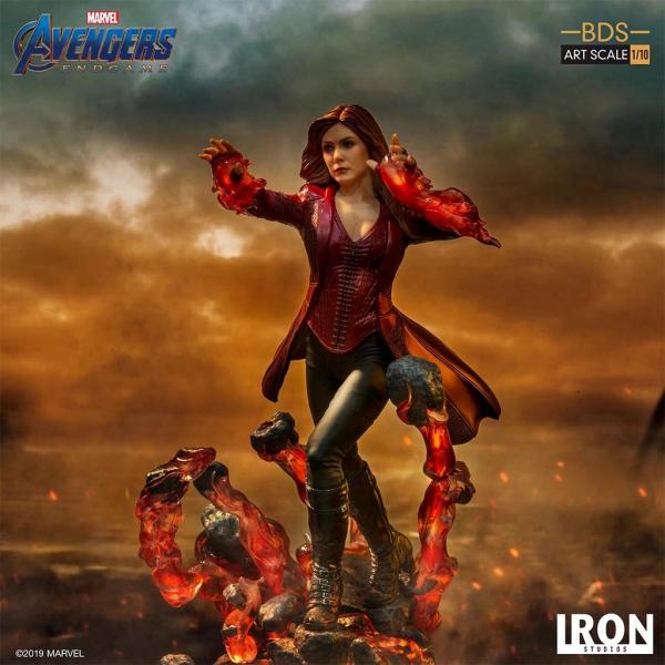 Iron Studios 1/10 漫威 復仇者聯盟 : 終局之戰 緋紅女巫 雕像 Iron Studios,1/10,漫威,復仇者聯盟 : 終局之戰,緋紅女巫,雕像