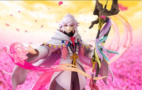 BANDAI  Figuarts ZERO Fate/Grand Order FGO 絕對魔獸戰線巴比倫尼亞 花之魔術師 梅林 BANDAI  Figuarts ZERO Fate/Grand Order FGO 絕對魔獸戰線巴比倫尼亞 花之魔術師 梅林