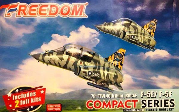Freedom COMPACT 系列 中華民國空軍 ROCAF F5E& F5F 空軍第7戰術戰鬥聯隊 成立40週年虎斑塗裝 Q版戰機 組裝模型 Freedom,COMPACT 系列,中華民國空軍,ROCAF,F5E,F5F,空軍第7戰術戰鬥聯隊,成立40週年虎斑塗裝,Q版戰機,組裝模型