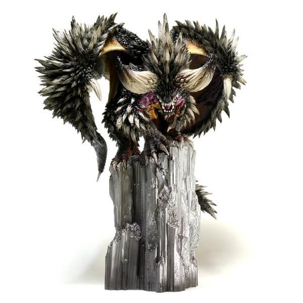 CAPCOM  魔物獵人魔物 魔物雕像 滅盡龍 PVC CAPCOM,魔物獵人,魔物雕像,鋼龍,風翔龍,滅盡龍,PVC