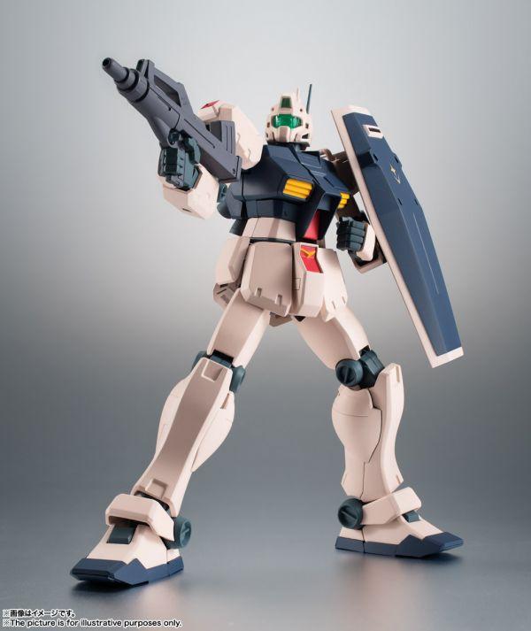 BANDAI ROBOT魂 RGM-79C 吉姆改 ver. A.N.I.M.E. BANDAI,ROBOT魂,RGM-79C,吉姆改, A.N.I.M.E.