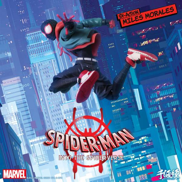 [再販] 千值練 MARVEL 漫威 SV-Action 邁爾斯·摩拉斯 蜘蛛人 可動完成品 [再販],千值練,MARVEL,漫威,SV-Action,邁爾斯,·,摩拉斯, 蜘蛛人,可動模型,
