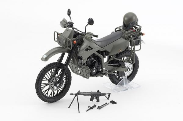Tomytec 1/12 迷你武裝 LM002 陸上自衛隊偵察摩托車 DX版 Tomytec,1/12,迷你武裝,LM002,陸上自衛隊偵察摩托車,DX版