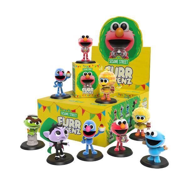 Mighty Jaxx 盒玩 FURR FWENZ 芝麻街植絨盲盒 全9款 一中盒12入販售 Mighty Jaxx,盒玩,FURR FWENZ,芝麻街,植絨盲盒,全9款,一中盒12入販售,