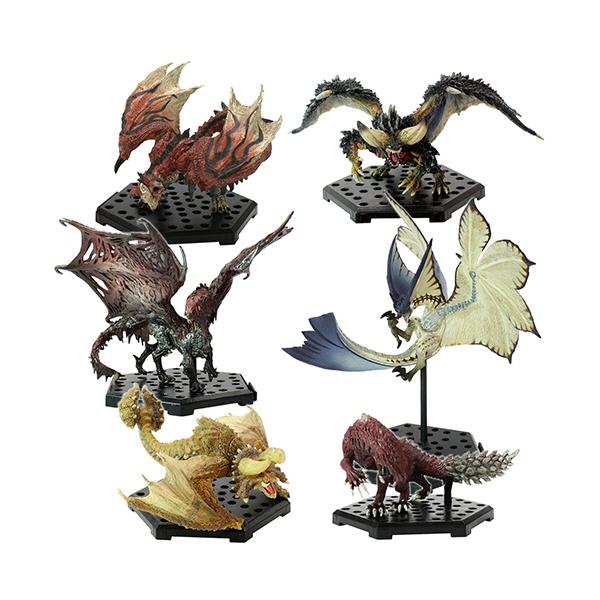 CAPCOM 盒玩 魔物獵人 世界 Plus THE BEST Vol.9.10&11 一中盒6入販售 CAPCOM,盒玩,魔物獵人魔物集Plus,Vol.17,全6種