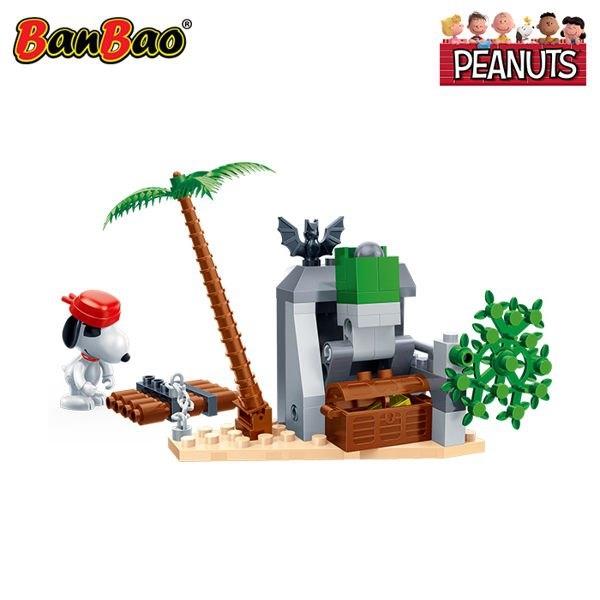 BanBao 邦寶積木 史努比 蝙蝠洞藏寶 68片 BanBao,邦寶積木,史努比,蝙蝠洞藏寶,68片