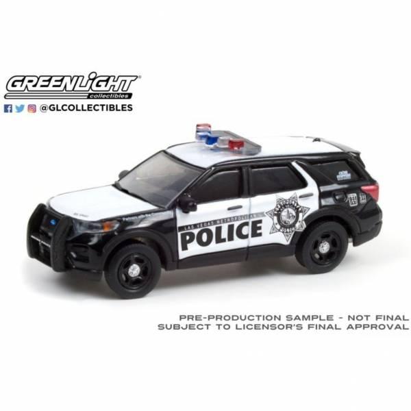 GREENLIGHT 1/64 2020 福特 拉斯維加斯警車 合金車 GREENLIGHT,1/64,2020,福特,拉斯維加斯警車,合金車,