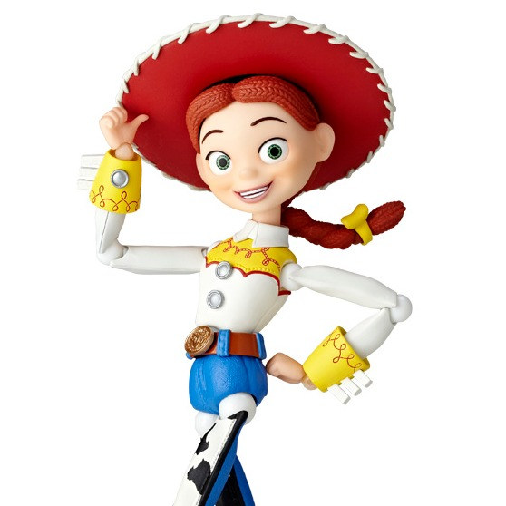 KAIYODO 海洋堂 山口遺產 特攝轉輪 迪士尼 皮克斯 玩具總動員 翠絲 Jessie 新包裝版 LR-048 翠絲,玩具總動員,海洋堂,轉輪,Jessie