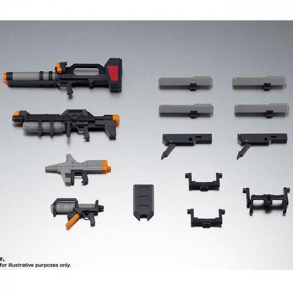 ROBOT魂 <SIDE MS> 連邦軍武器組 Ver. A.N.I.M.E. BANDAI,ROBOT魂<SIDE MS>,MS-18E,肯普法 Ver. A.N.I.M.E.
