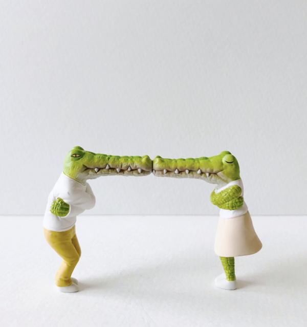 T-ARTS 扭蛋 鱷魚先生的日常困擾 角色公仔 全4種 隨機4入販售 扭蛋,鱷魚先生的日常,我的生活不可能那麼壞