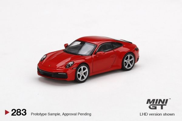 MINIGT 1/64 保時捷 911 (992) Carrera S 紅 右駕  MINIGT,1/64,保時捷,911,(,992,),Carrera S,紅,右駕 ,
