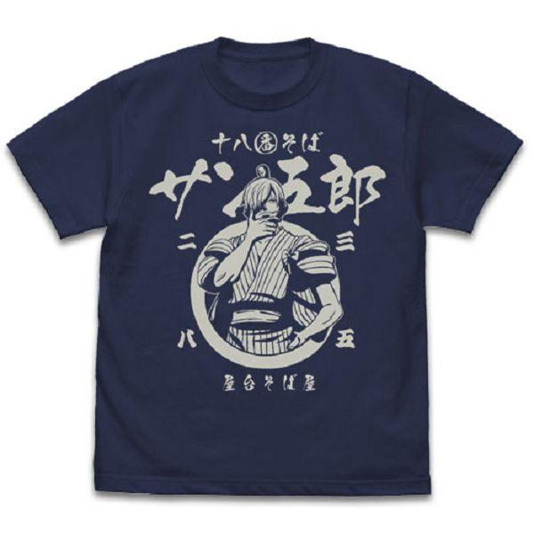 [再販] COSPA 海賊王 香吉五郎 短袖T恤 靛藍 COSPA,海賊王,香吉五郎,短袖T恤
