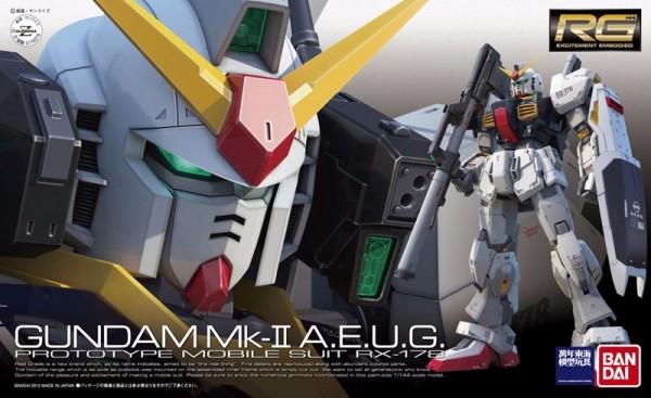BANDAI RG 1/144 #008 RX-178 鋼彈Mk-II 幽谷 組裝模型 RG