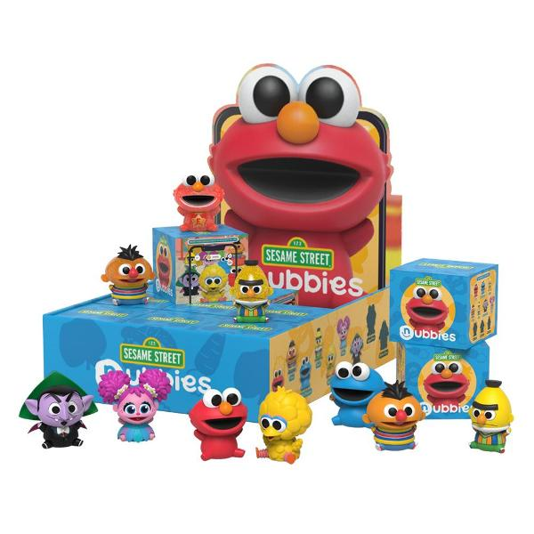 Mighty Jaxx 盒玩 盲盒 2吋 芝麻街Q版系列 全10種 一中盒隨機12入販售  Mighty Jaxx,盒玩,2吋,芝麻街Q版系列,全10種,一中盒隨機12入,販售, 盲盒