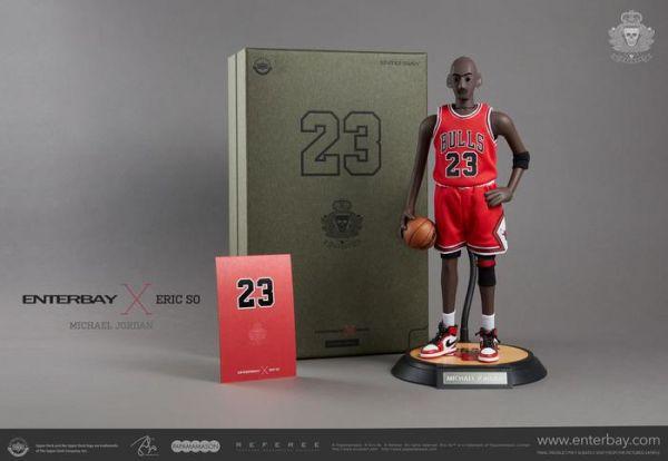 ENTERBAY x Eric So / 1/6 / NBA 公牛隊 / Michael Jordan 麥可喬丹 可動公仔 ENTERBAY x Eric So,1/6,NBA,公牛隊,Michael Jordan,可動公仔