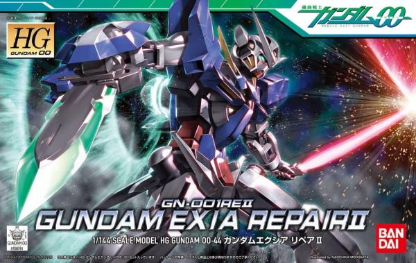 HG 1/144 #44 鋼彈00 能天使鋼彈 R2 修補版 EXIA REPAIR II 鋼彈,HG 00,1/144,