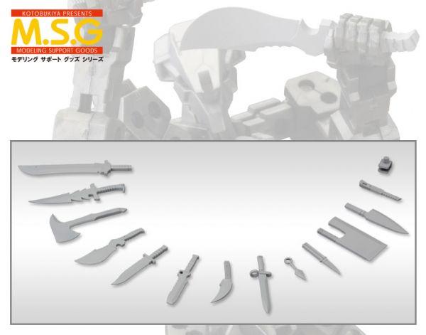 壽屋 MSG武裝零件 MW34 匕首組 組裝模型 KOTOBUKIYA Kotobukiya,MSG武裝零件,MW28R,衝擊刺刀