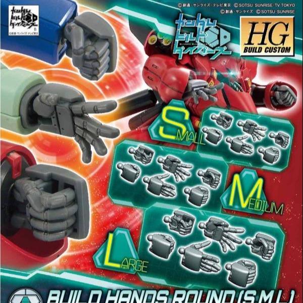 HGBC 1/144 製作手掌組 圓型指 SML HGBC,1/144,製作手掌組,圓型指,SML