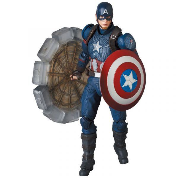 Medicom Toy MAFEX 復仇者聯盟:終局之戰 美國隊長 可動公仔 Medicom Toy,MAFEX,復仇者聯盟,終局之戰,美國隊長,可動公仔