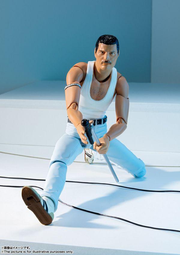 BANDAI S.H.Figuarts SHF 皇后樂團 佛萊迪•墨裘瑞 拯救生命演唱會Ver.  Freddie Mercury Live Aid BANDAI,S.H.Figuarts,SHF,皇后樂團,佛萊迪•墨裘瑞,拯救生命演唱會Ver.,Freddie Mercury Live Aid
