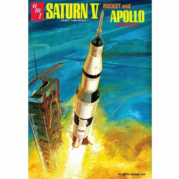 AMT 1/200 阿波羅11號 月球著陸50周年紀念 土星5型火箭 組裝模型 AMT,1/200,阿波羅11號,月球著陸50周年紀念,土星5型火箭