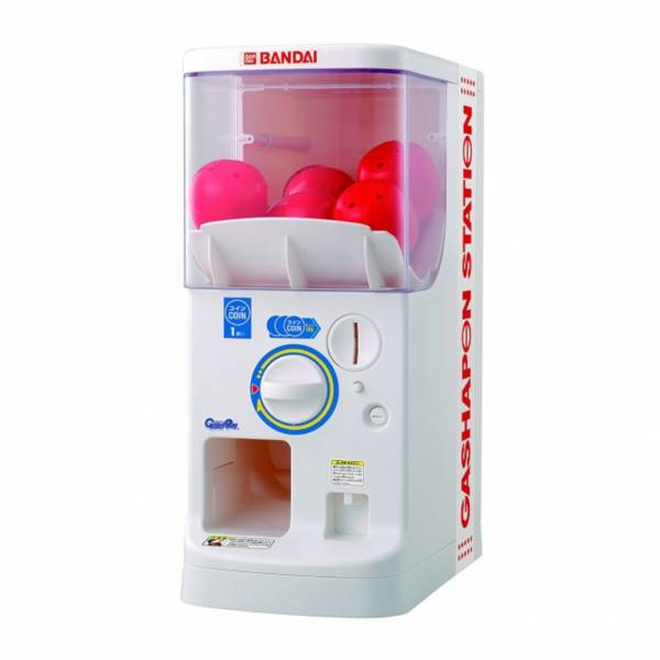BANDAI 1/2 扭蛋機PLUS 轉蛋機 萬代公式用扭蛋機台 BANDAI, 1/2, 扭蛋機PLUS, 轉蛋機 ,萬代公式用扭蛋機台