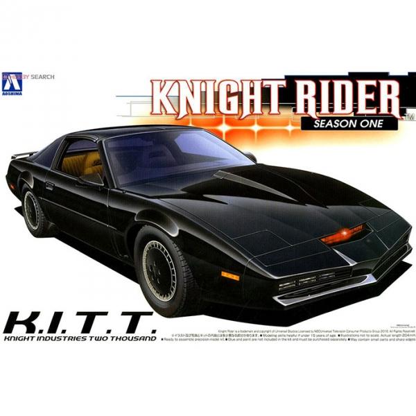 AOSHIMA 1/24 Knight Rider 霹靂遊俠 Knight2000 K.I.T.T. I  第一季式樣 組裝模型 李麥克 夥計 AOSHIMA,1/24,Knight Rider,霹靂遊俠,Knight2000,K.I.T.T. I