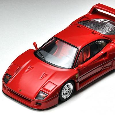 [車身可展開] TOMYTEC 1/64 TLV-NEO 法拉利 Ferrari F40 TOMYTEC,1/64,TLV-NEO,法拉利,Ferrari F40