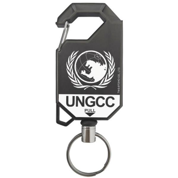 [再販] COSPA 哥吉拉 國連G對策中心 伸縮鑰匙扣  COSPA,哥吉拉,國連G對策中心,伸縮鑰匙扣,